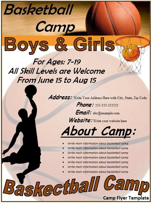 Basketball Flyer | Stationary Templates | Pinterest | Template and Craft