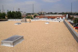 Built Up Tar And Gravel Roof Roofing Systems Bitumen Roof