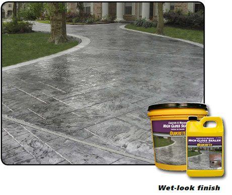 Concrete Masonry Gloss Sealer Concrete Sealer Masonry Concrete
