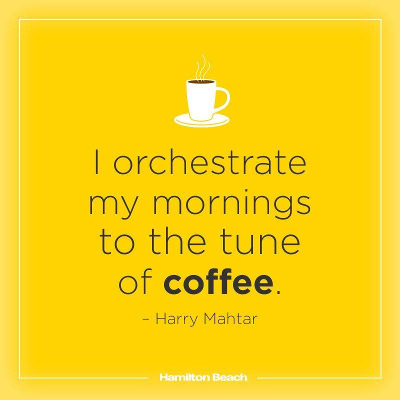 Wake up to a symphony of #coffee! http://bitly.com/SmRzLx