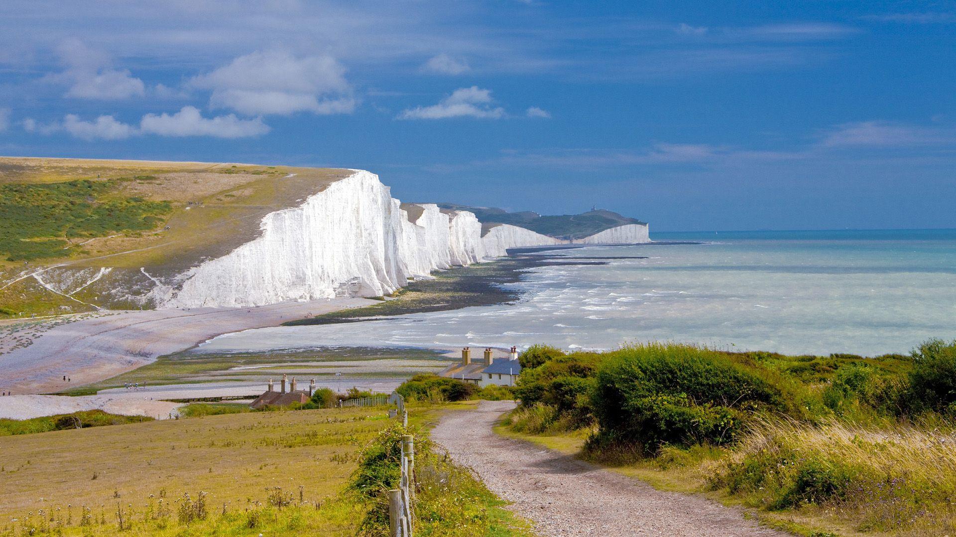White Cliffs Of Dover White Cliffs Of Dover East Sussex Nature