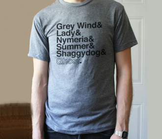 #Game of Thrones T-Shirt  Love the Direwolves!