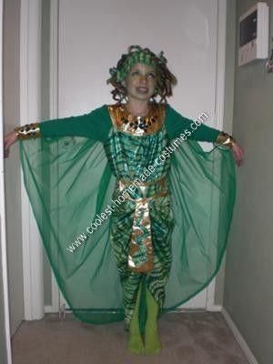 coolest homemade medusa unique halloween costume idea - Medusa Halloween Costume Kids
