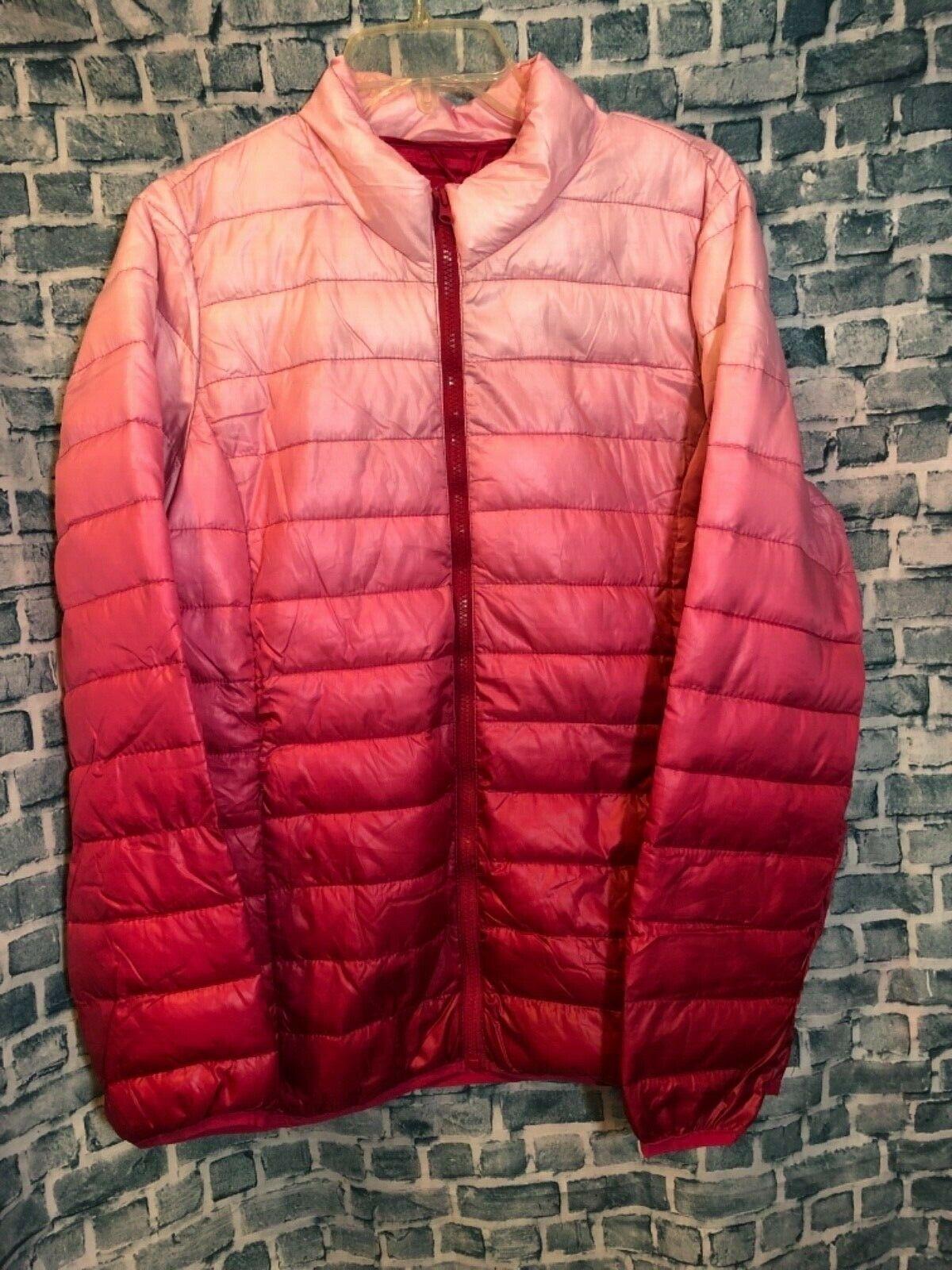 Women S Jackson Hole Outerwear Ombre Pink Puffer Jacket Xl Ebay Pink Puffer Jacket Jackets Puffer Jacket Women [ 1600 x 1200 Pixel ]