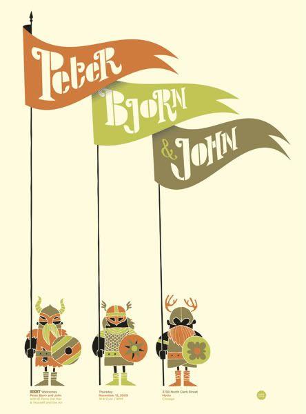 Peter Bjorn & John.