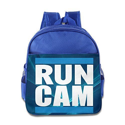 RUN DMC Carolina Panthers Run Cam Newton Children Backpack RoyalBlue ... c12913da3f