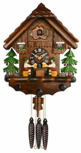 River City Clocks One Day Musical Forest Cuckoo Wall Clock Cuckoo Clock Clock Black Forest House