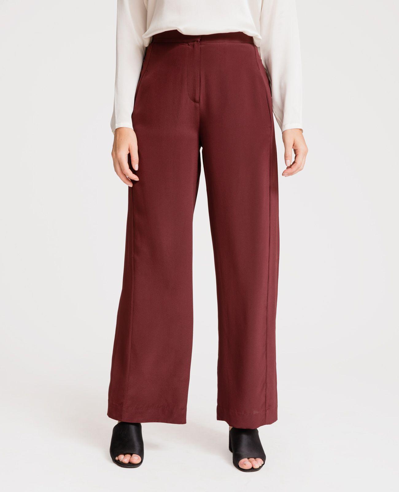 3f1e38838d73 Silk Wide Leg Racer Pants in 2019 | Style -- I Wear | Pants, Wide ...