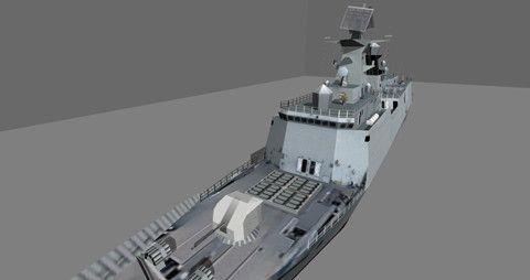 Jiangkai FFG54A Chinese Frigate