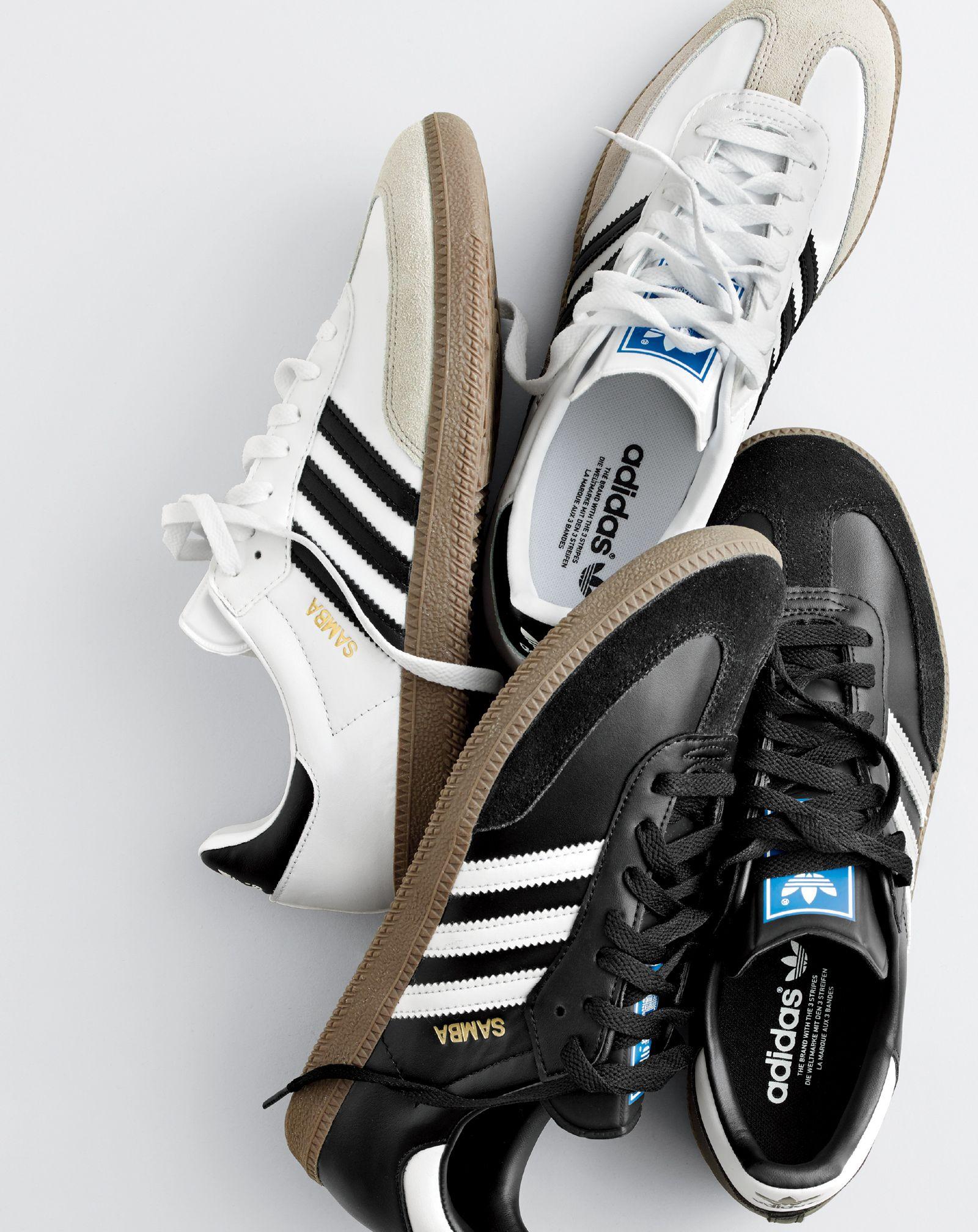 super popular a3d1f 4382c J.Crew men s Adidas® Samba® sneakers.