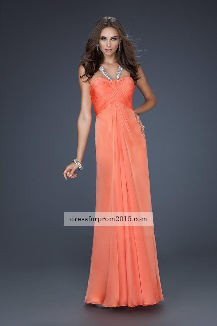 Papaya Party Dresses