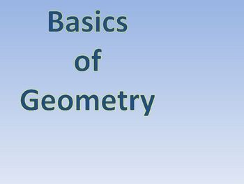 basics of geometry math lessons pinterest powerpoint animation