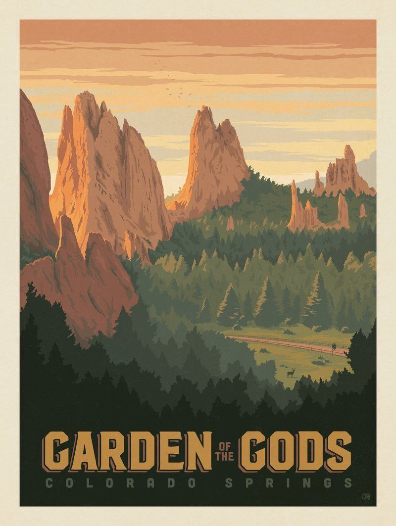 Garden of the Gods, Colorado Springs, Colorado | print/post cards ...