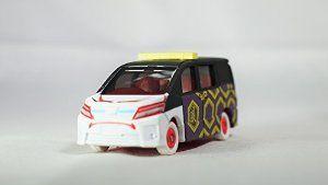 TOMICA Japan Mascot Kuji Kabukimono 2016 Toyota Voxy