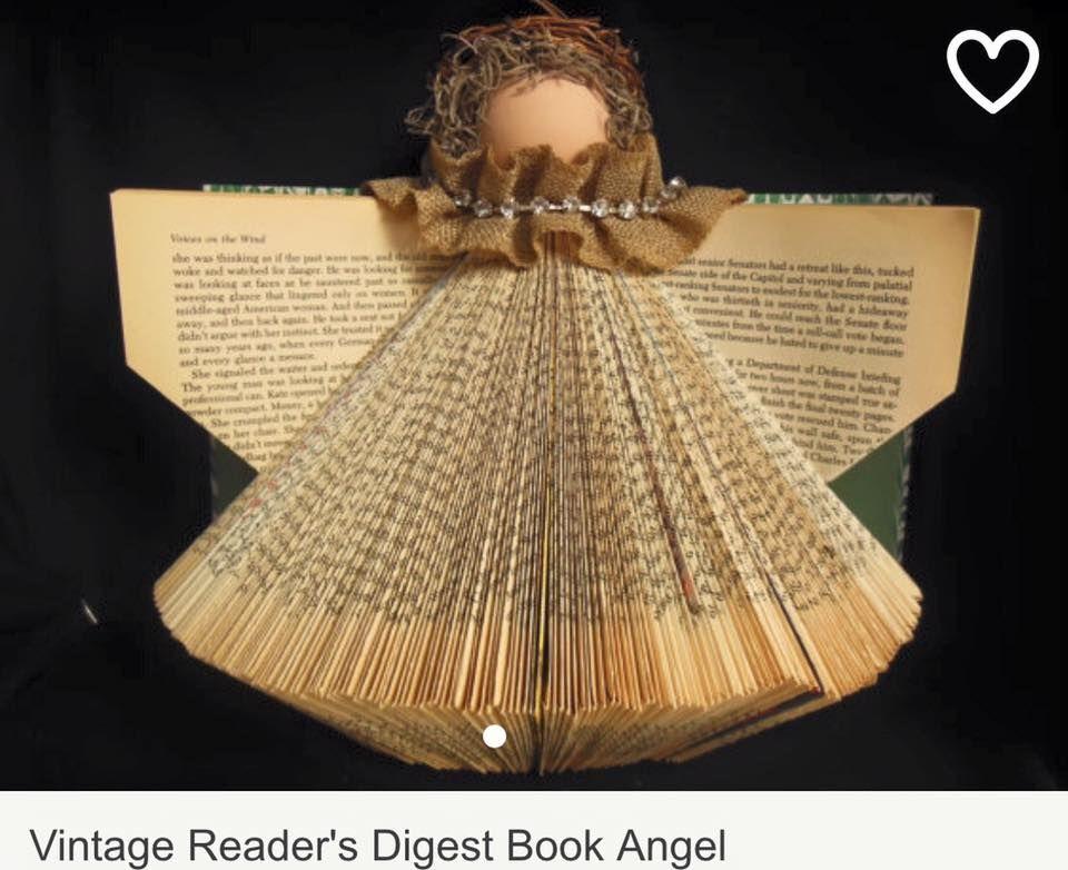 Cute book angel