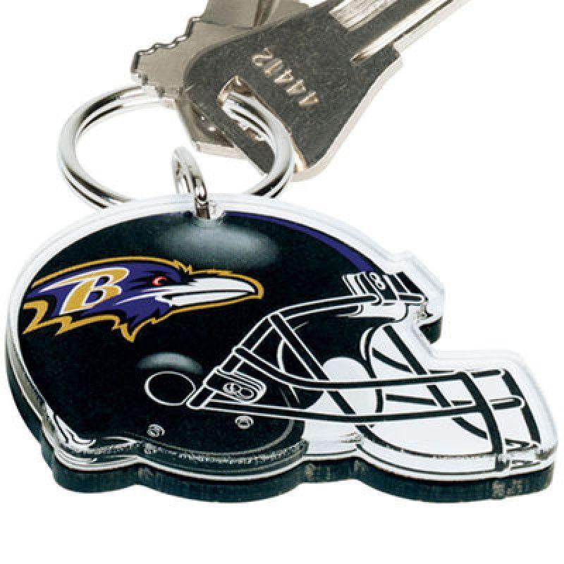 4b3f9e8b Kulcstartó, NFL Baltimore Ravens sisak premium | NFL | Helmet logo ...