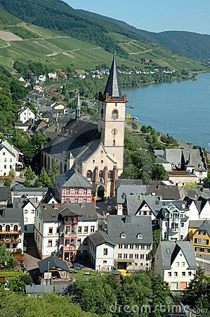 Lorch, Germany on The Rhine River. Germany is a must as I am mostly German according to ancestry.com!