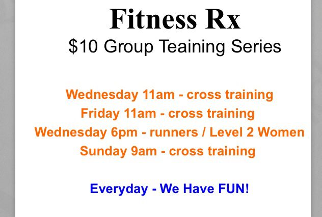 Start the body construction process now to fight the holiday weight gain!  11a today group training.