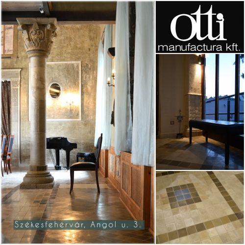 Otti-Cementlap,lábazati kő,burkolat,mozaik,terrazzó,falikút,térkő ...
