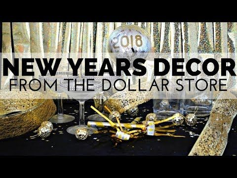 How to Decorate for New Years Eve Using Supplies from the ...