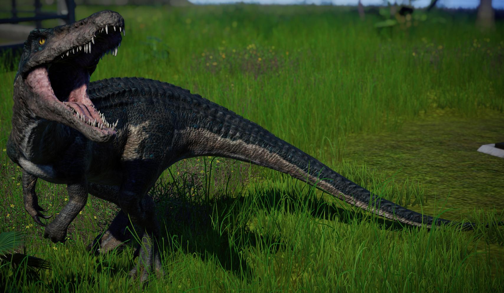 Baryonyx Jurassic World Evolution Wiki Fandom Powered By Wikia Jurassic World Jurassic World Dinosaurs Jurassic Park World