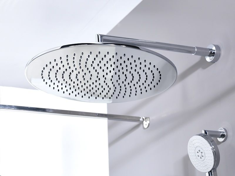 Noken Rondo shower head and Hotels handshower rail kit Image ...