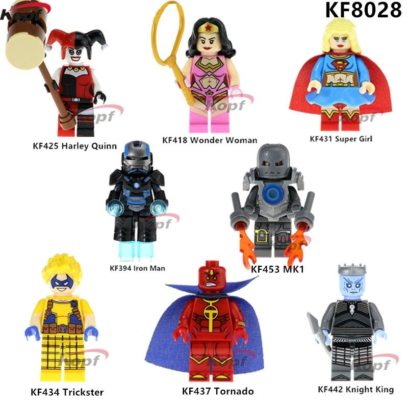 TRICKSTER DC COMICS MINIFIGURE FIGURE USA SELLER NEW FITS LEGOS