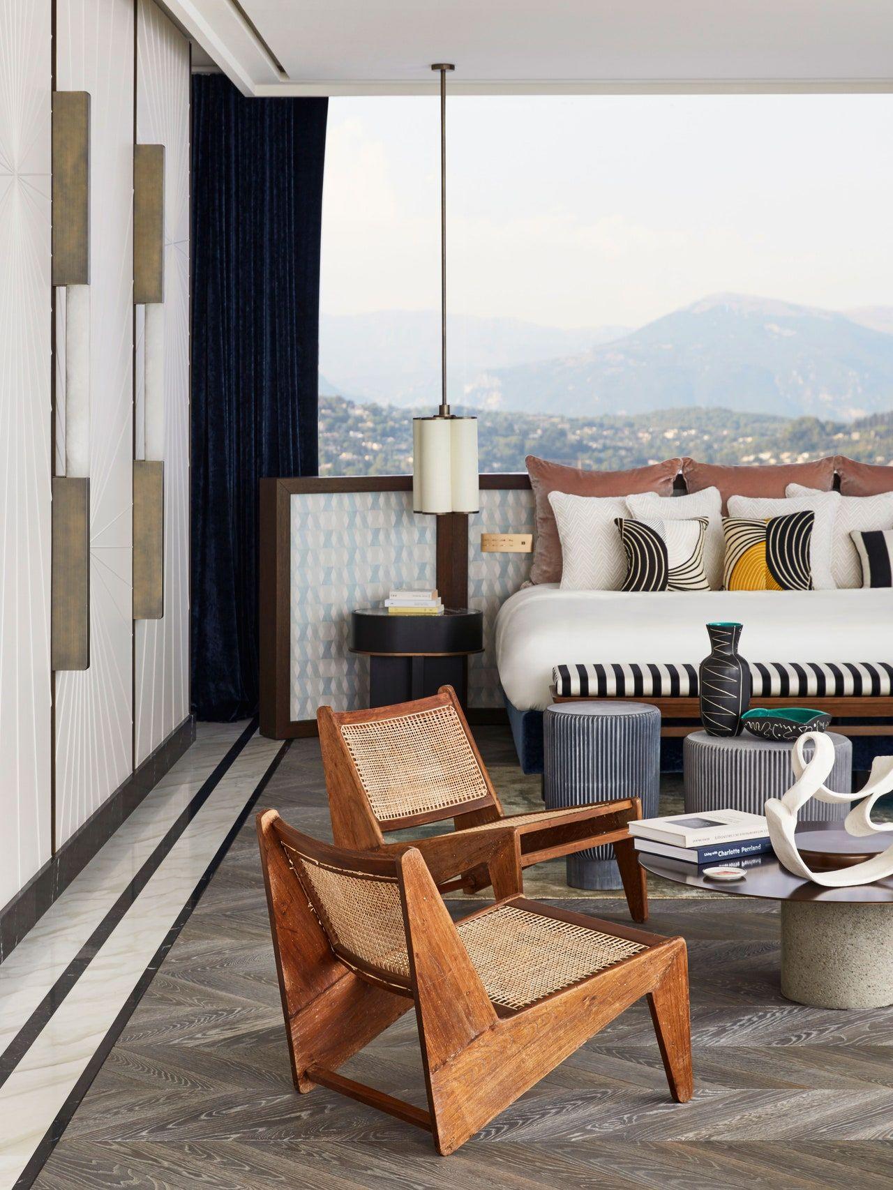 Tour a Dreamy Family Escape High Above Cannes