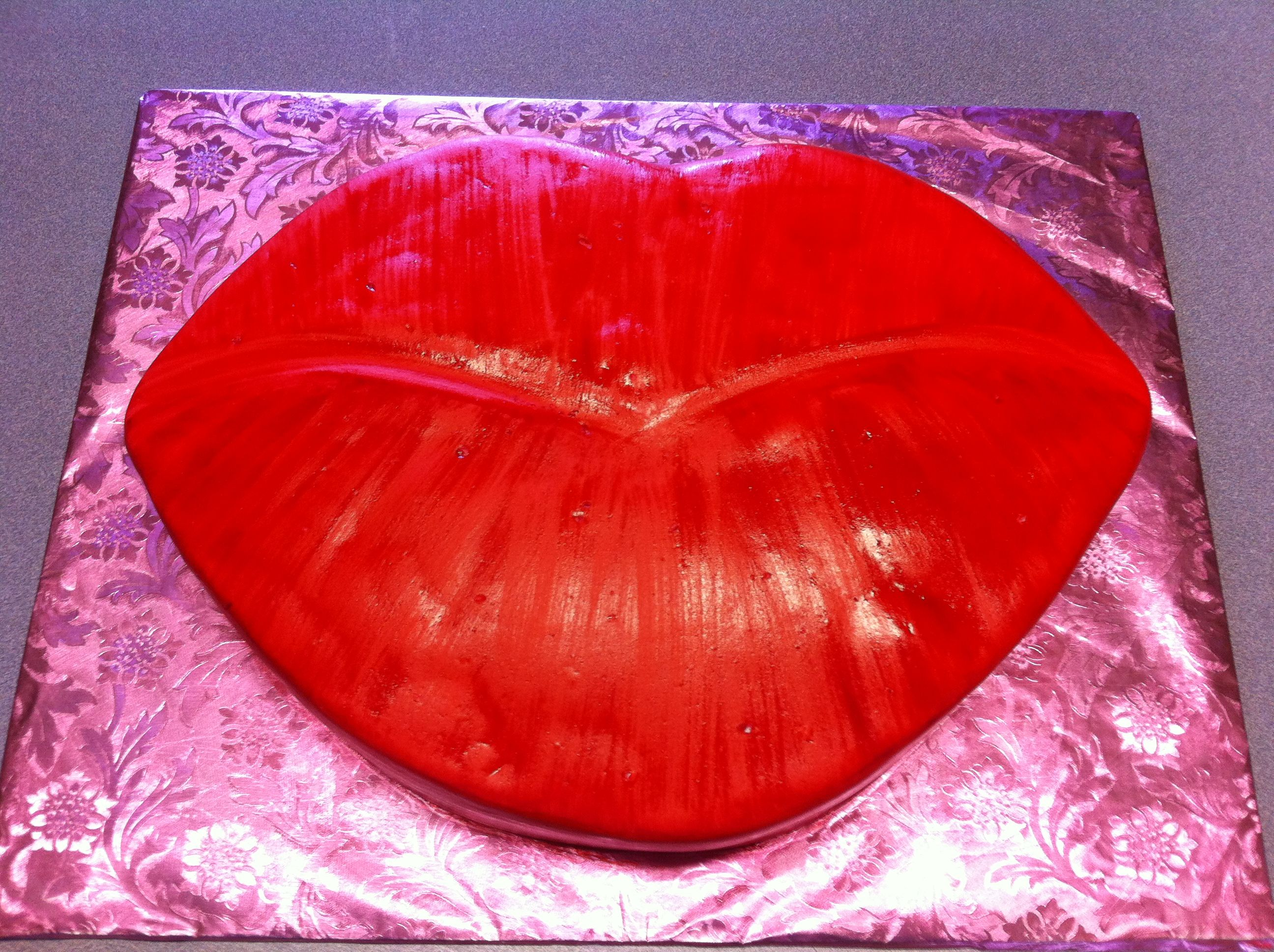Red Lips Birthday Cake Cake Red Lips Red