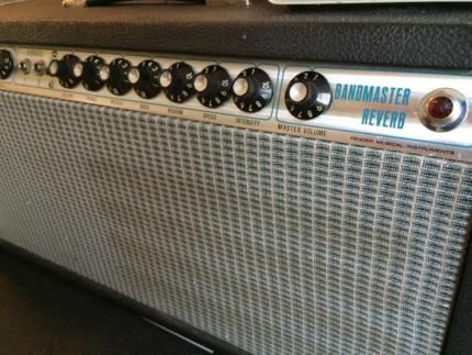 Fender Bandmaster Reverb Silverface Top in Berlin - Friedrichshain