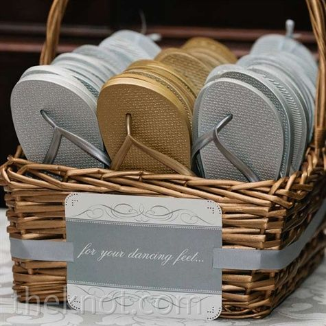flip flop wedding favorsso cute and great idea