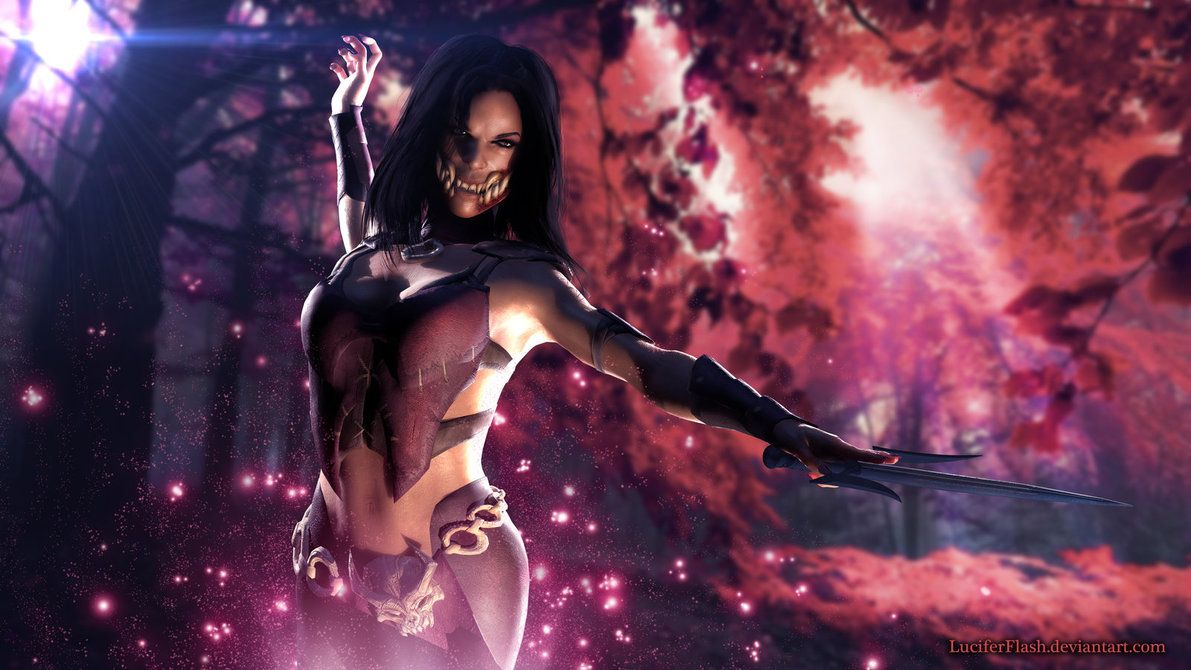 Mortal Kombat X Mileena Ravenous Last Variation Mortal Kombat