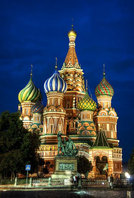 St Basil's Cathedral, Red Square, Russia