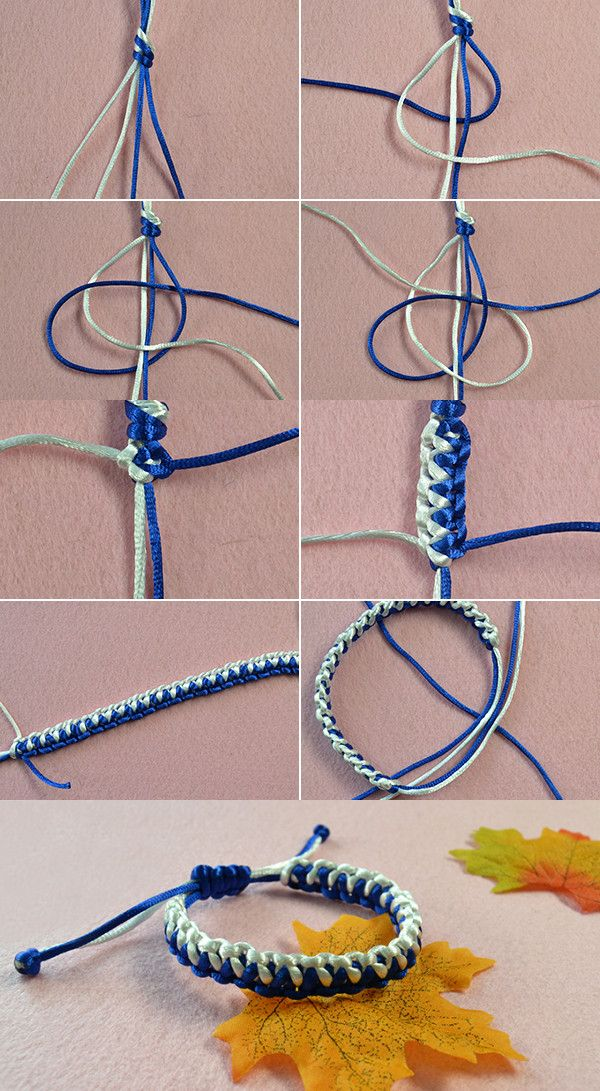 Like Thread Braided Bracelet Lc Pandahall Will Publish The Tutorial Soon