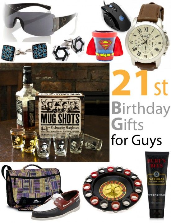 Top 21st Birthday Gifts For Guys