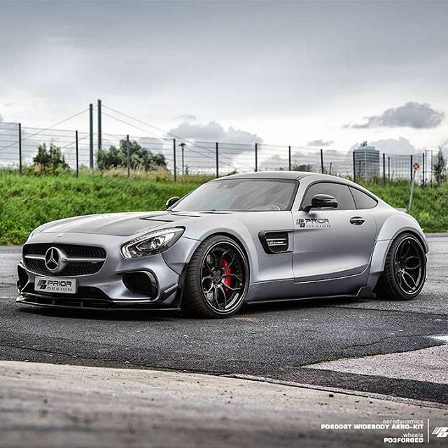 Best Luxury Cars Mercedes Benz Amg: Prior Design Mercedes AMG GTS