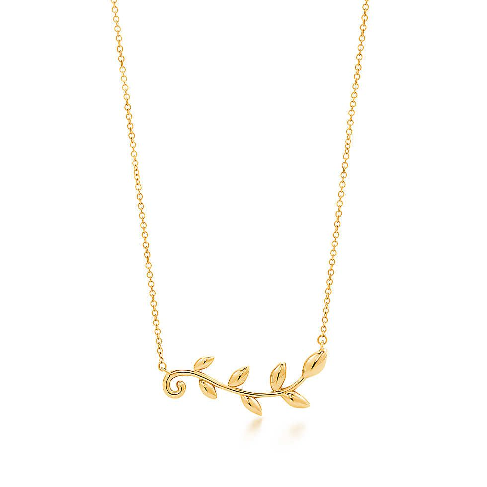 Tiffany & Co. -  Paloma Picasso®:Olive LeafVine Pendant