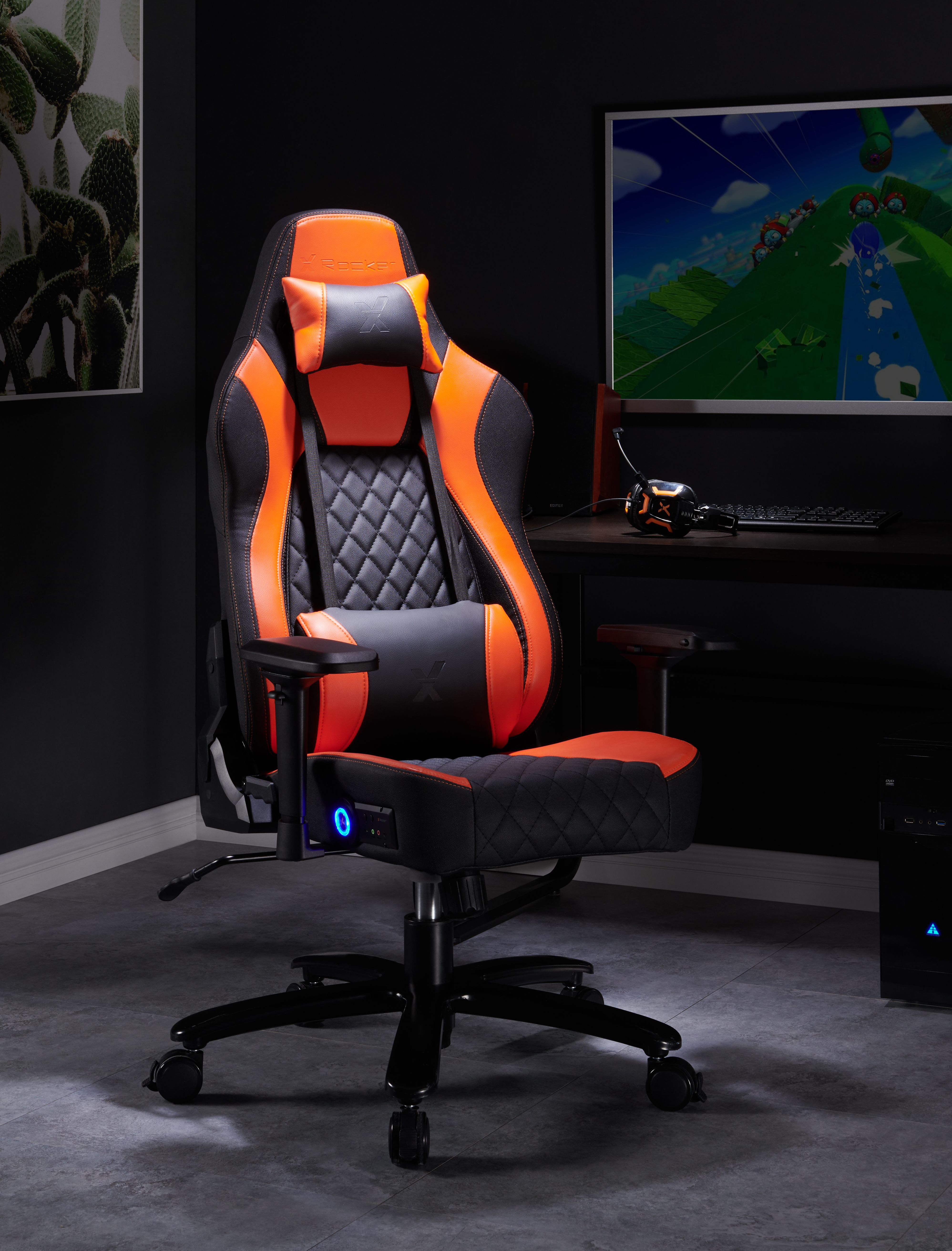 Delta XL Bluetooth PC Gaming and Office Chair – Gaming Room İdeas