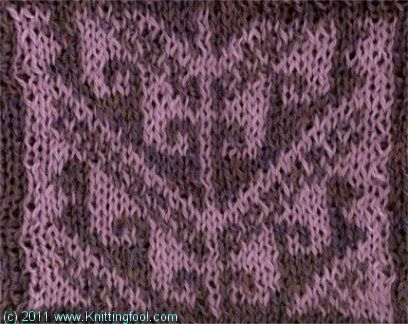 Hook 11 2 Color Knitting Pattern Tech How To Patterns