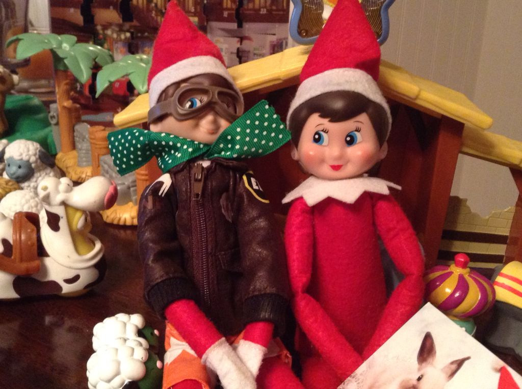 Cutes Cupple Ever! Best elves in the world! My elves Buddy & Gloria!