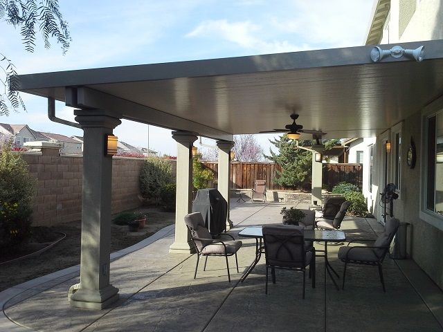 Marvelous Solid Patio Covers | Bright Ideas Design Center