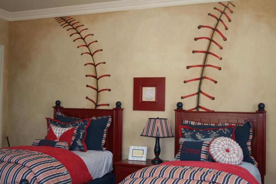 cute idea baby love pinterest room bedrooms and kids rooms rh pinterest com African Playing Baseball Baseball Club House