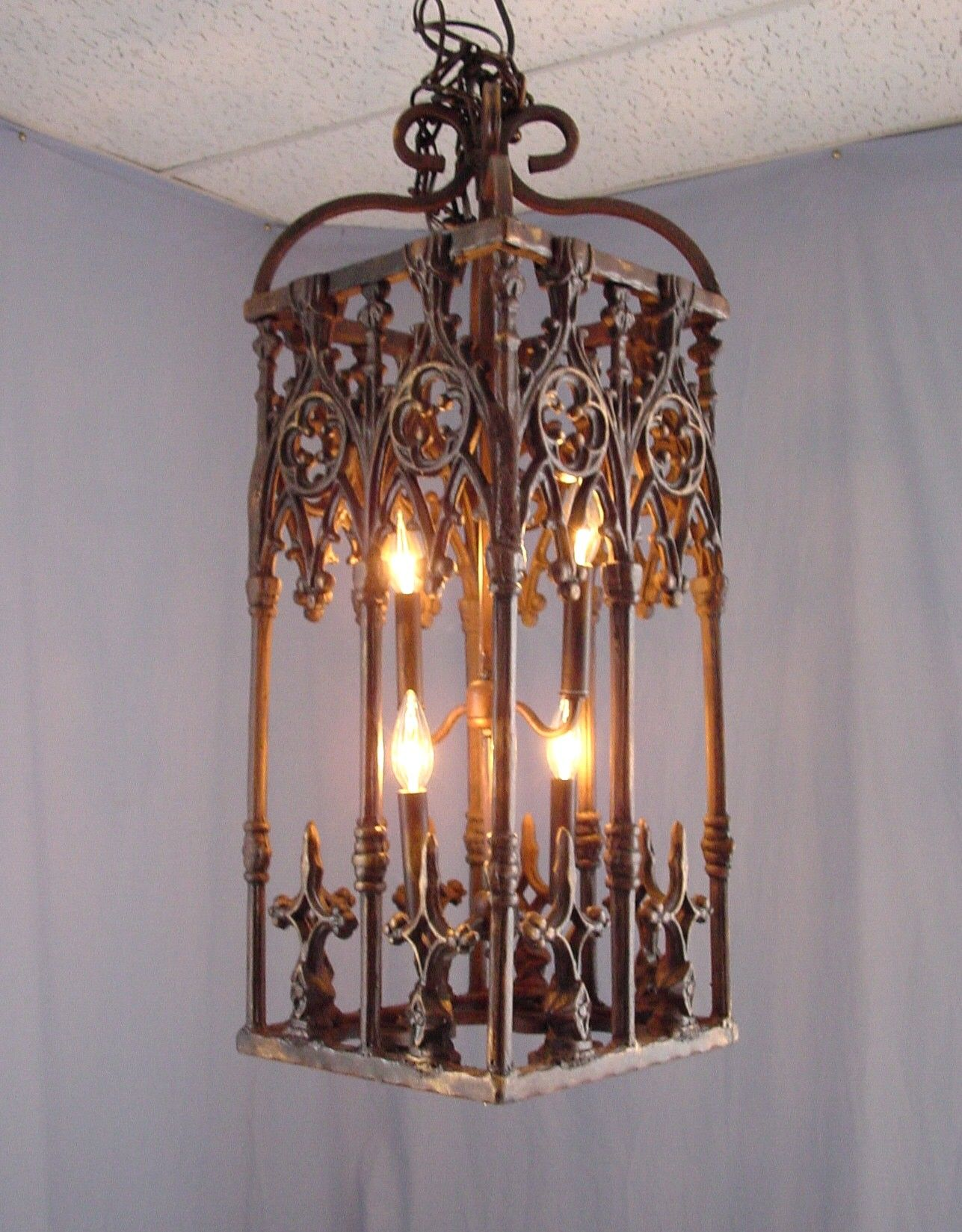 Rustic Chandelier From Wrought Iron – Rustic Wrought Iron Chandelier