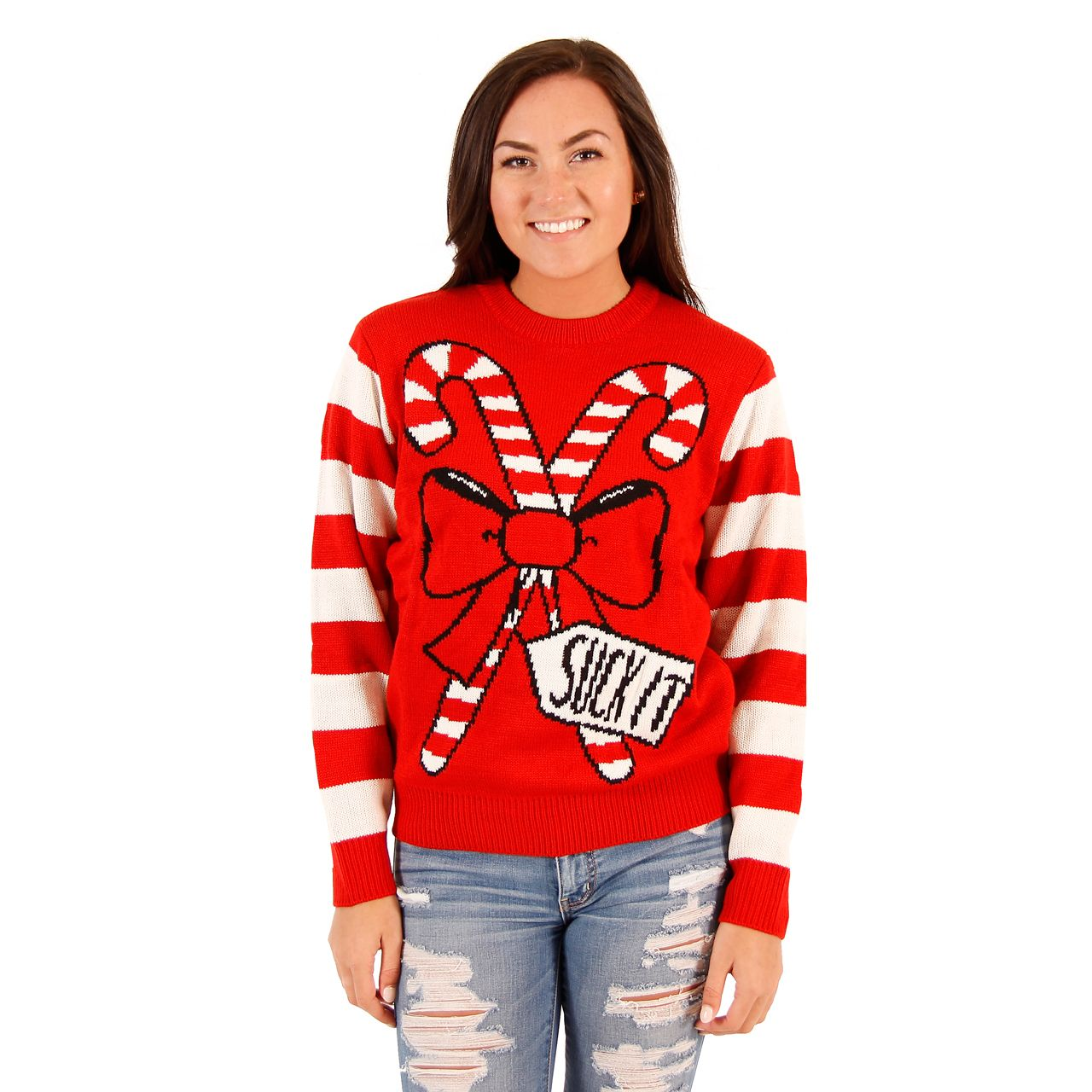 Pin On Women S Ugly Christmas Sweaters