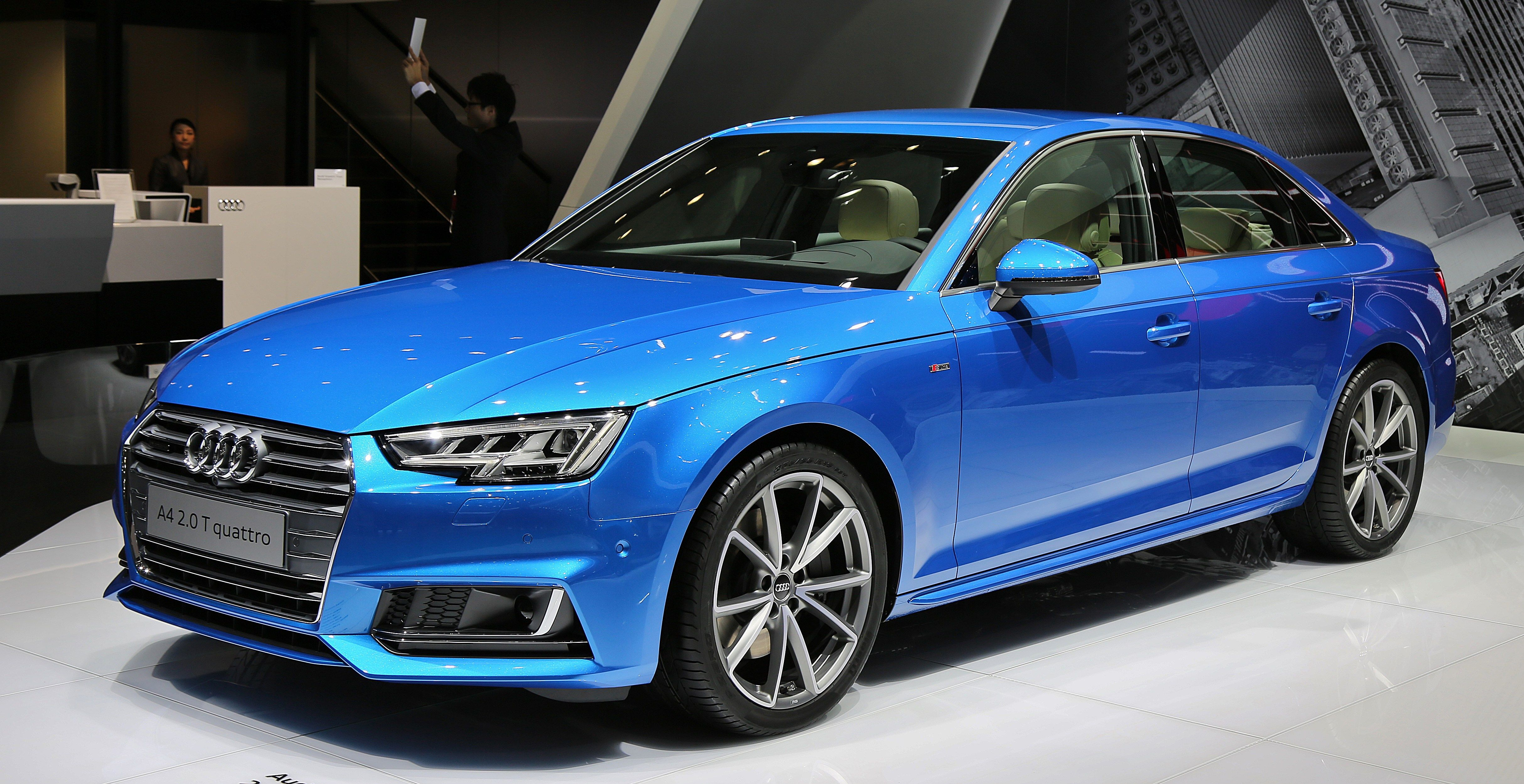 Hot Audi A4 Lease Deal 1.4T SLine Saloon Review