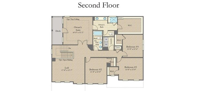 Stonefield Home Plan By Dan Ryan Builders In Mare S Head House Plans My Dream Home Living Room Loft