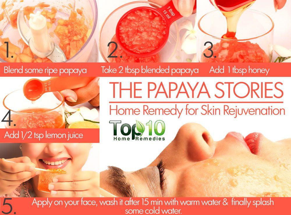 skin rejuvenation at home