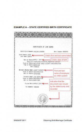 Download Birth Certificate Template   Nursery Closet