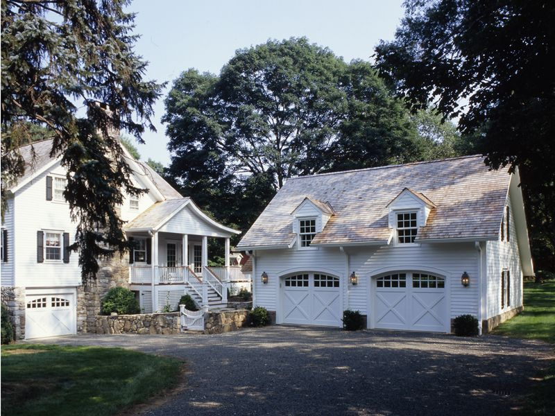 Two Story Addition and Carriage House Garage  Clark Construction of  Ridgefield, Inc.