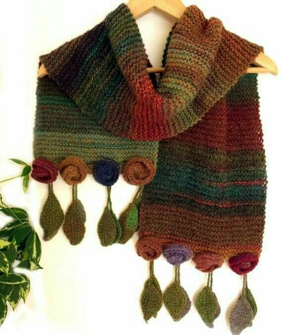 Knitted but I\'m sure I can easily adapt it to a crochet pattern ...